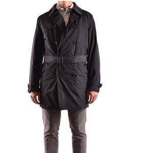 Allegri Black Trench/Raincoat Size 54